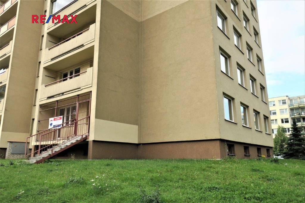 Rohový byt v 1. nadzemním podlaží