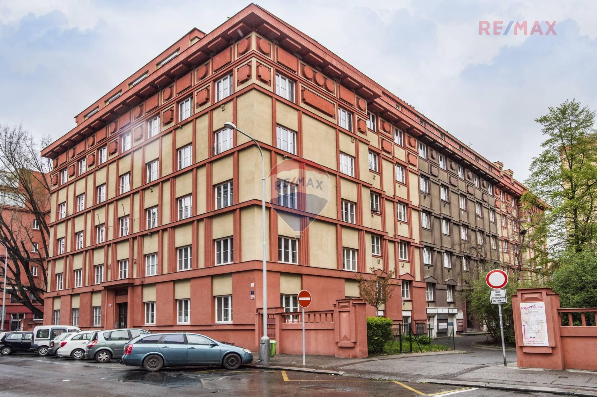 Pronájem zařízeného 4+kk 94m2, Praha – Holešovice